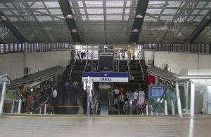 Ένας... ελληνικός σταθμός μετρό στο Σαντιάγκο της Χιλής