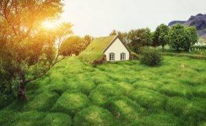 Perierga.gr-Το παραμυθένιο ισλανδικό χωριό Χοφ και η ιδιαίτερη αρχιτεκτονική του