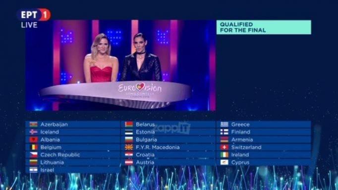 Ο δεύτερος Ημιτελικός της Eurovision